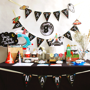 Outer Space Party - Printables