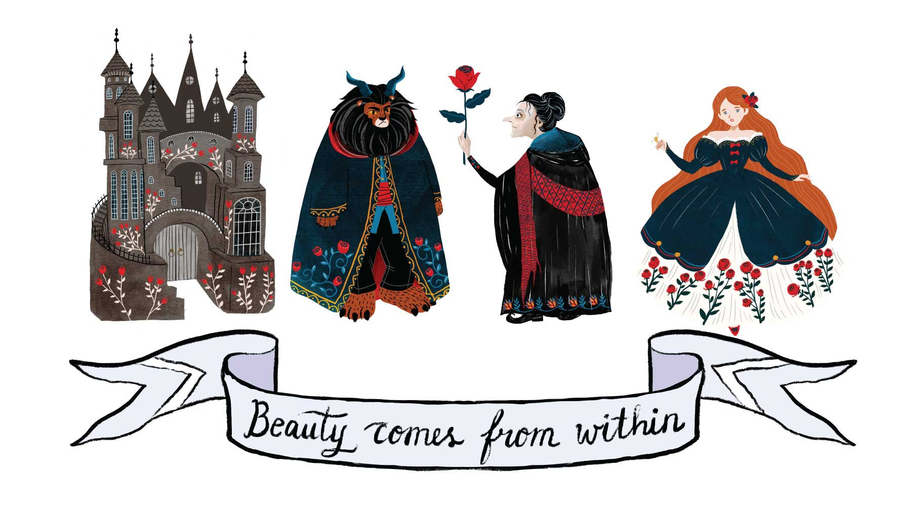 Blog#2: Designing Beauty and The Beast Theme